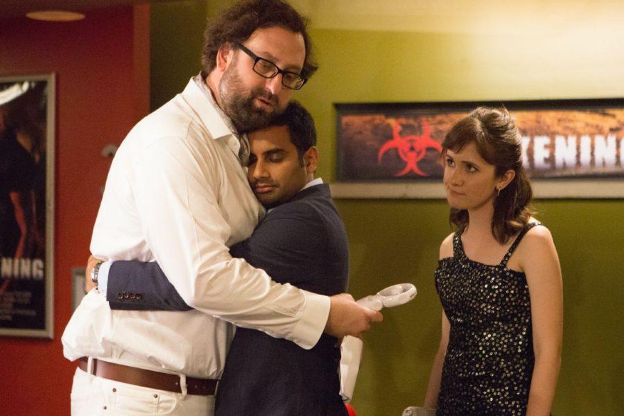 Dev, Eric y Rachel en la primera temporada de Master of None