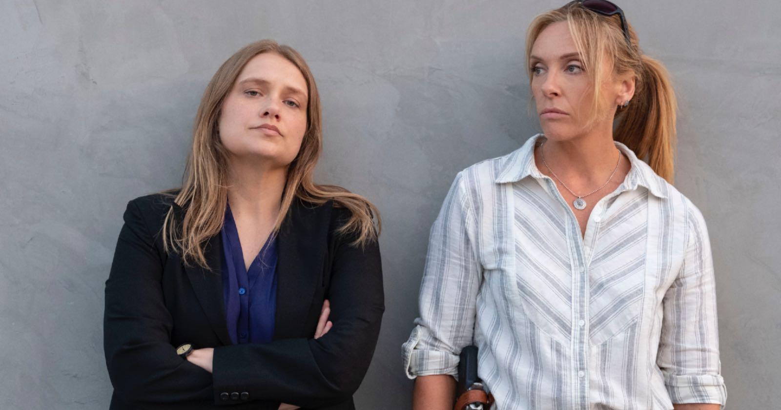 Las detectives Grace Rasmussen y Karen Duvall, en la miniserie original de Netflix Inconcebible