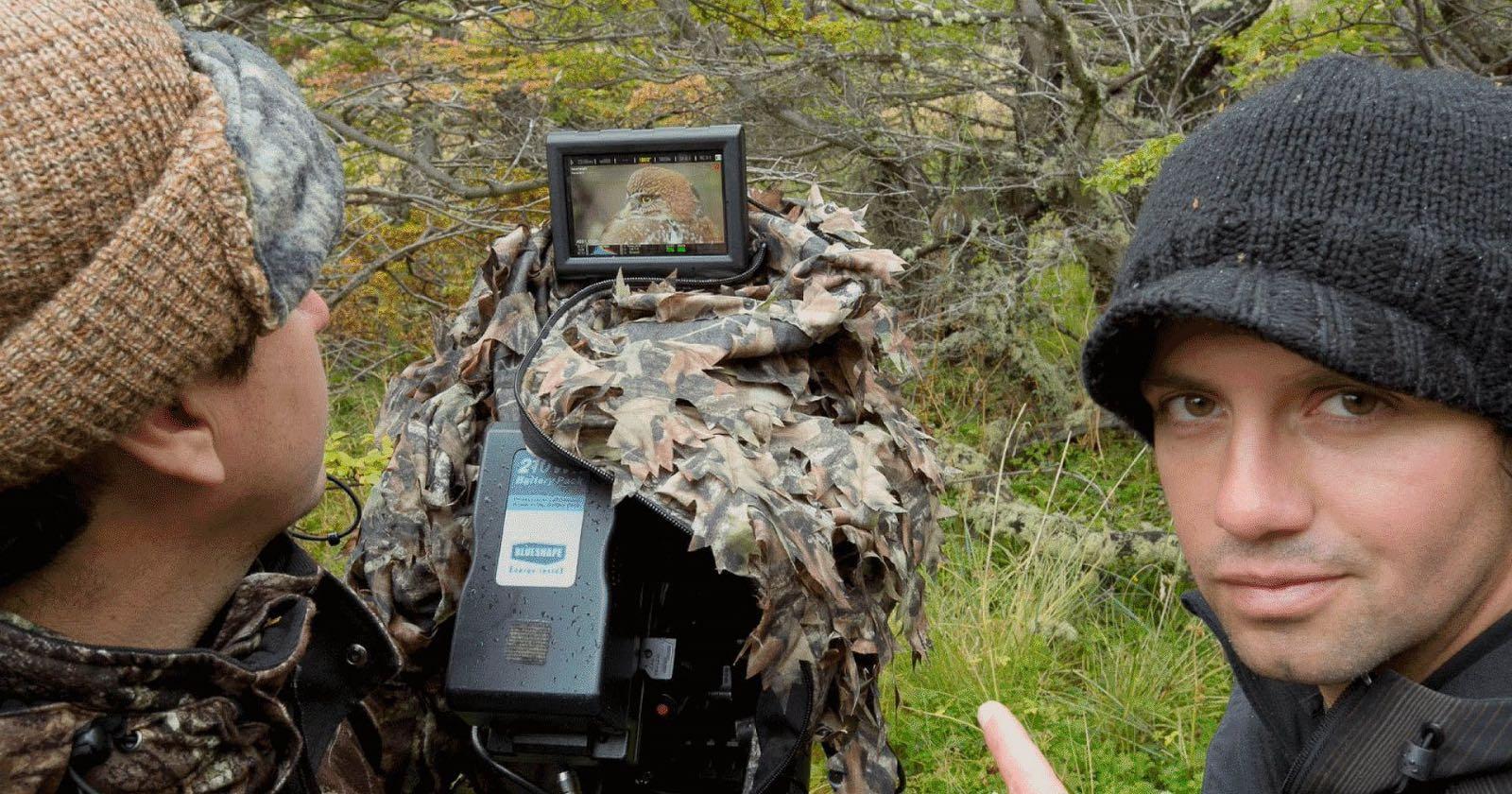 Making of del documental Wild Chile. Documentales sobre el planeta.