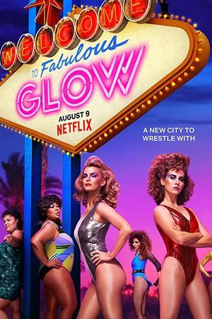 Betty Gilpin como Debbie en la primera temporada de GLOW, serie original de Netflix