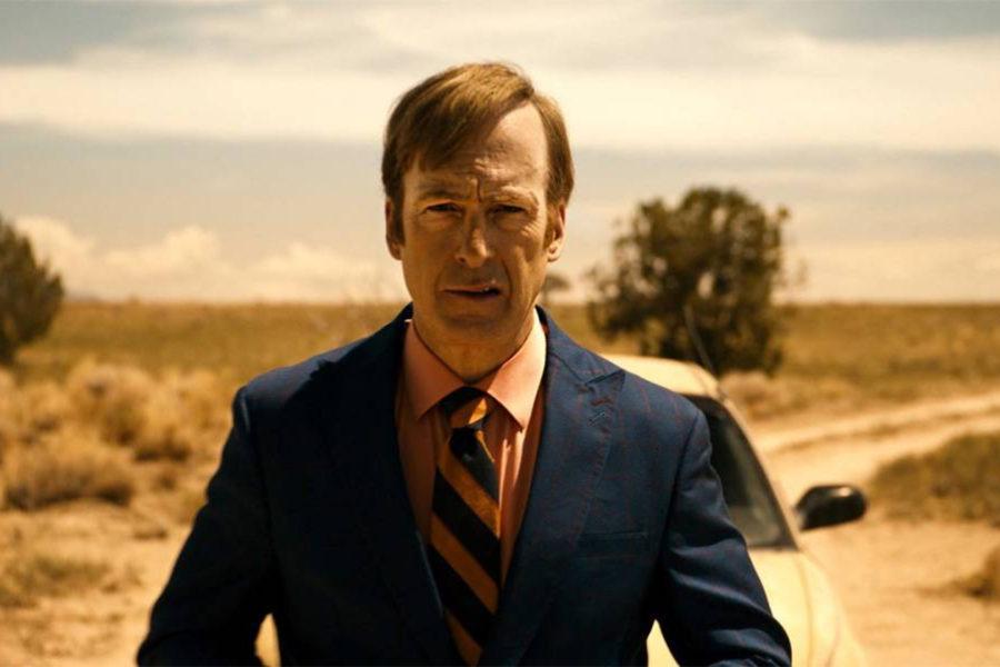 Saul Goodman en medio del desierto.