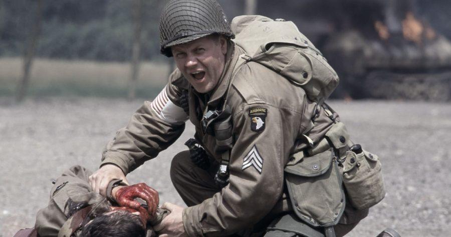 Imagen de la serie Band of Brothers, serie original de HBO