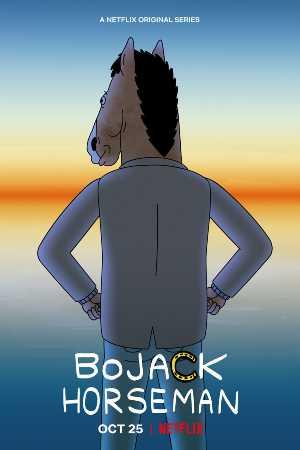 Princess Carolyn y Bojack Horseman, en la segunda temporada de Bojack en Netflix