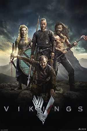 Ragnar Lothbrok interpretado por Travis Fimmel en Vikings