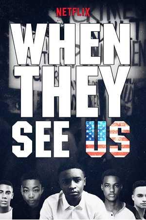 Escena emblemática de When They See Us donde se demuestra del apoyo de la población a los acusados