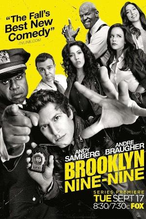 Andy Samberg y Joe Lo Truglio en la serie Brooklyn 99