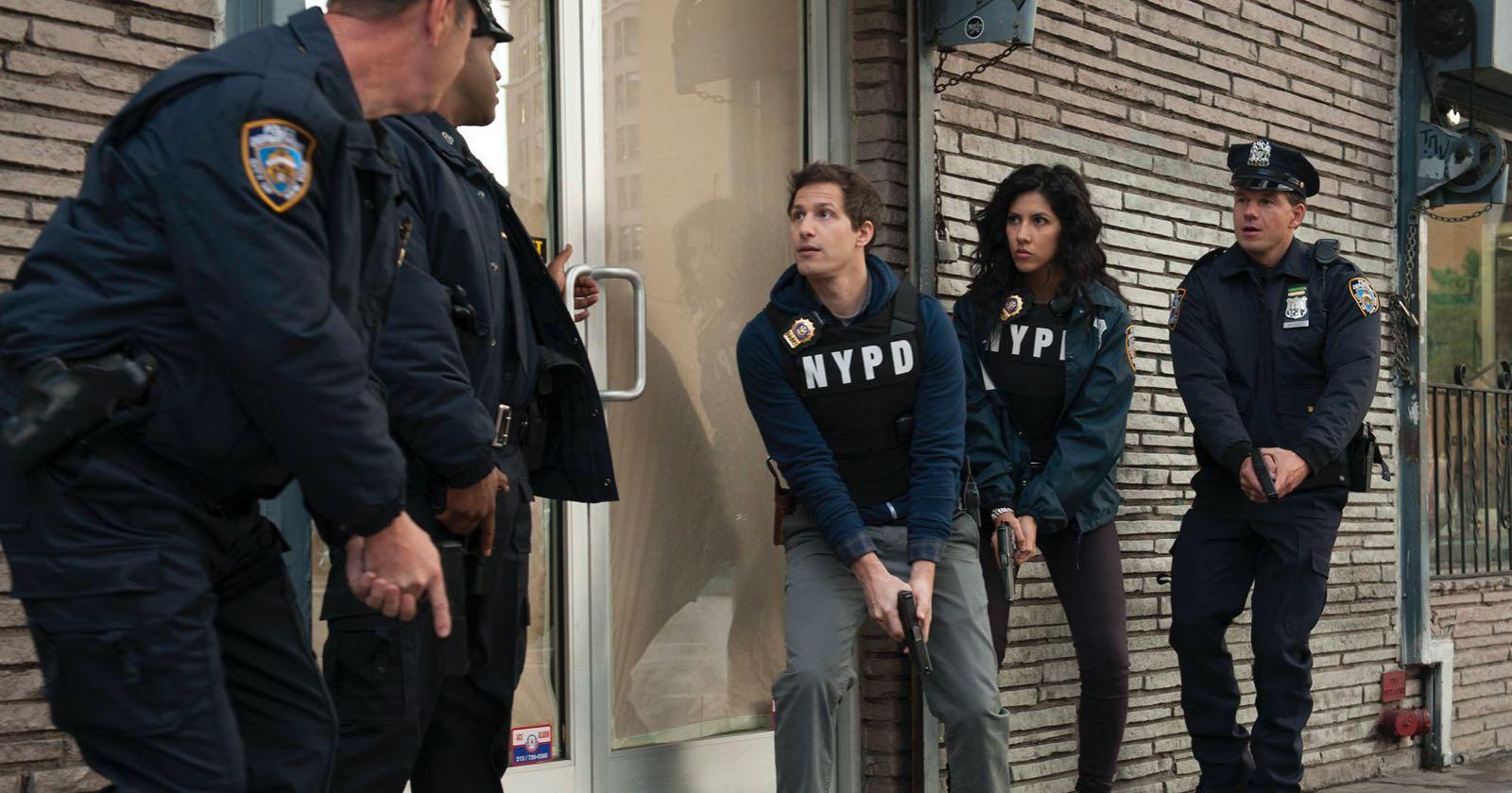 Escena de la primera temporada de Brooklyn 99