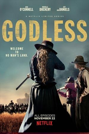 Michelle Dockery protagonizando la serie Godless