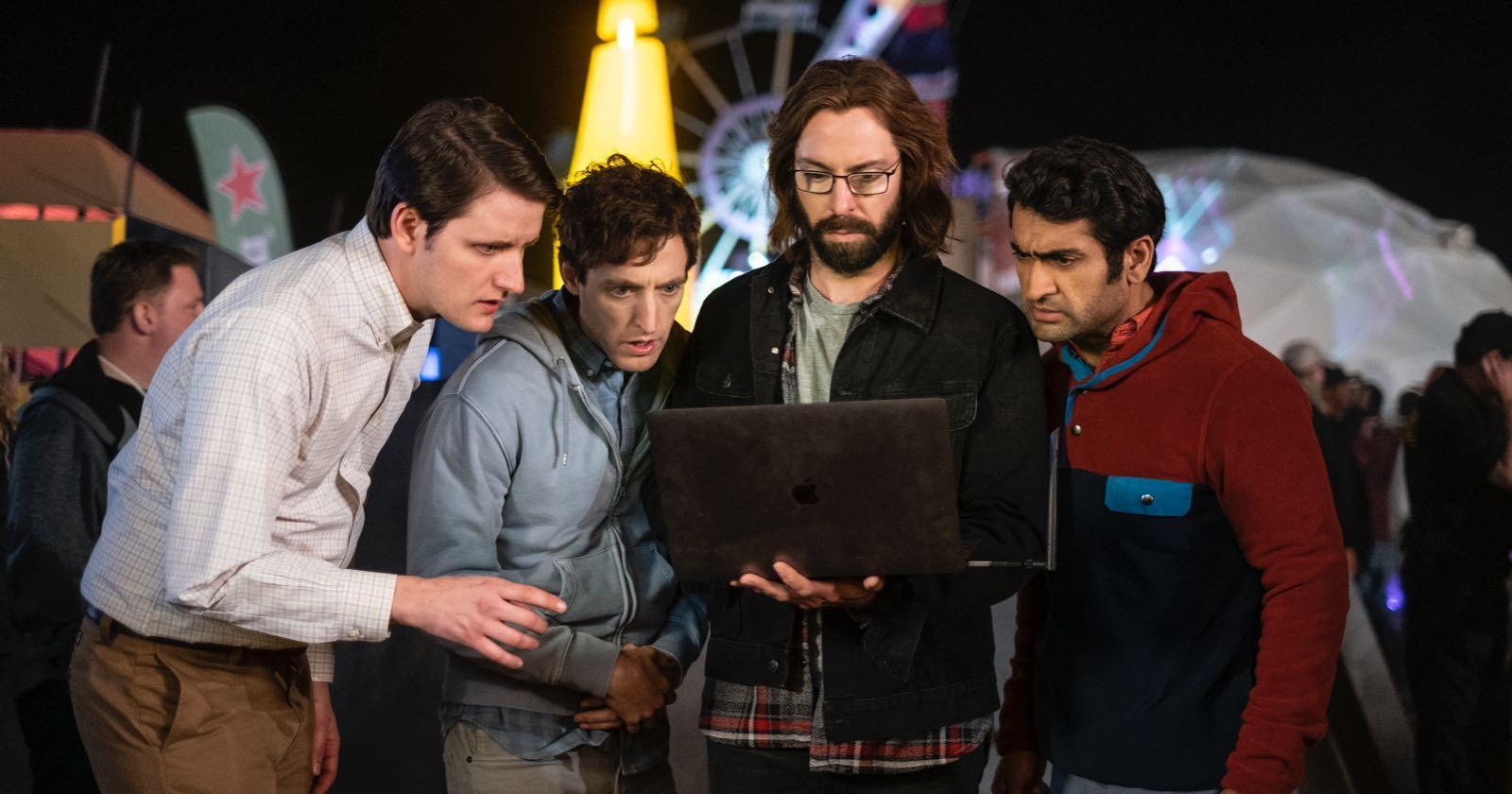 Protagonistas de Silicon Valley en la primera temporada.