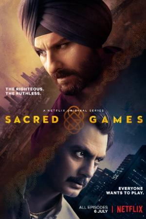 Saif Ali Khan protagonizando la serie Sacred Games