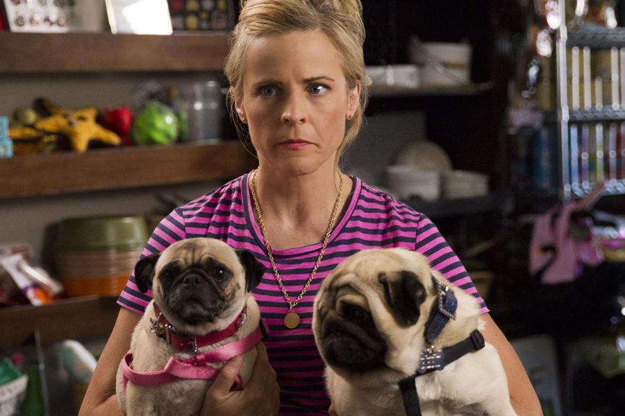 Maria Bamford (y dos perritos pug) en Lady Dynamite.