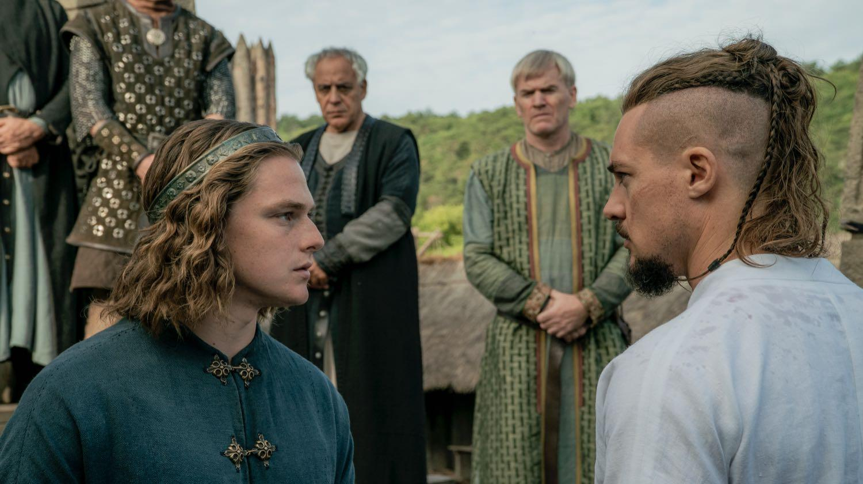 Escena característica de la cuarta temporada de The Last of Kingdom.