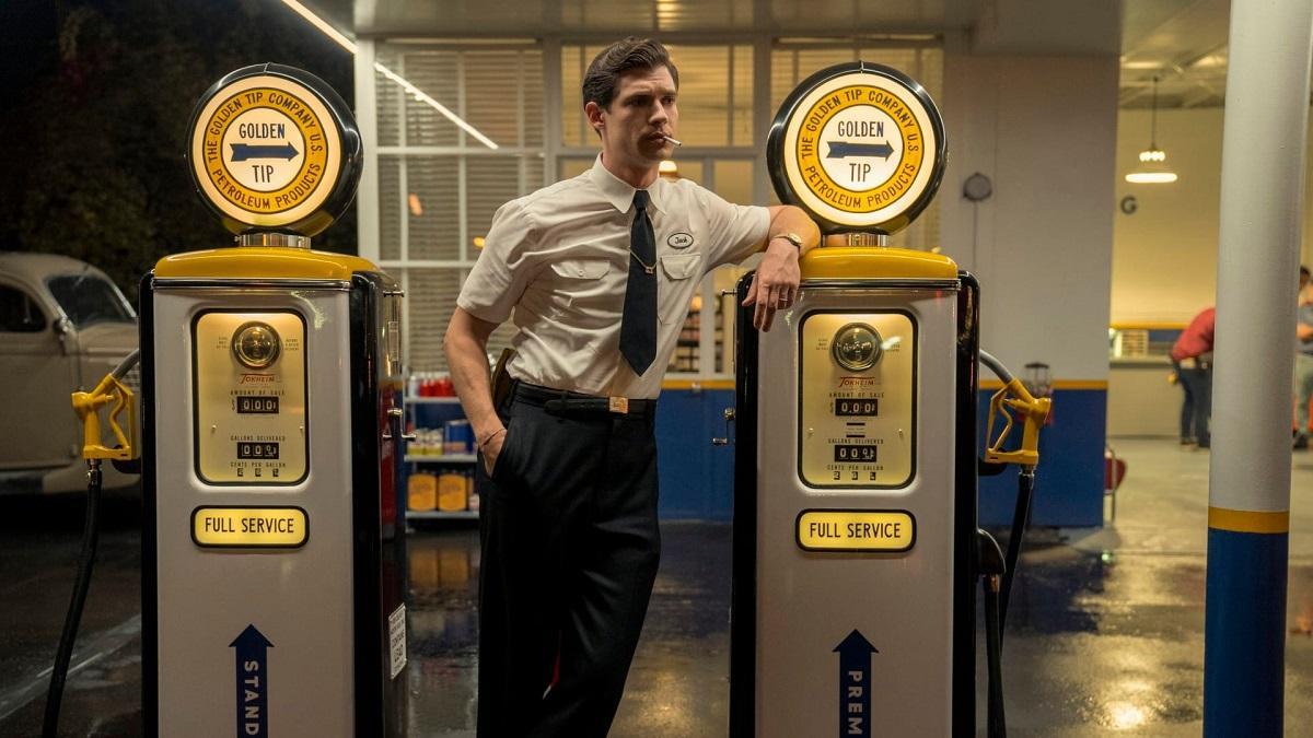 David Corenswet como Jack, uno de los protagonistas de Hollywood.