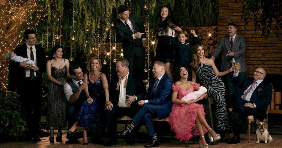 Foto promocional de Modern Family en su temporada 11 y final.