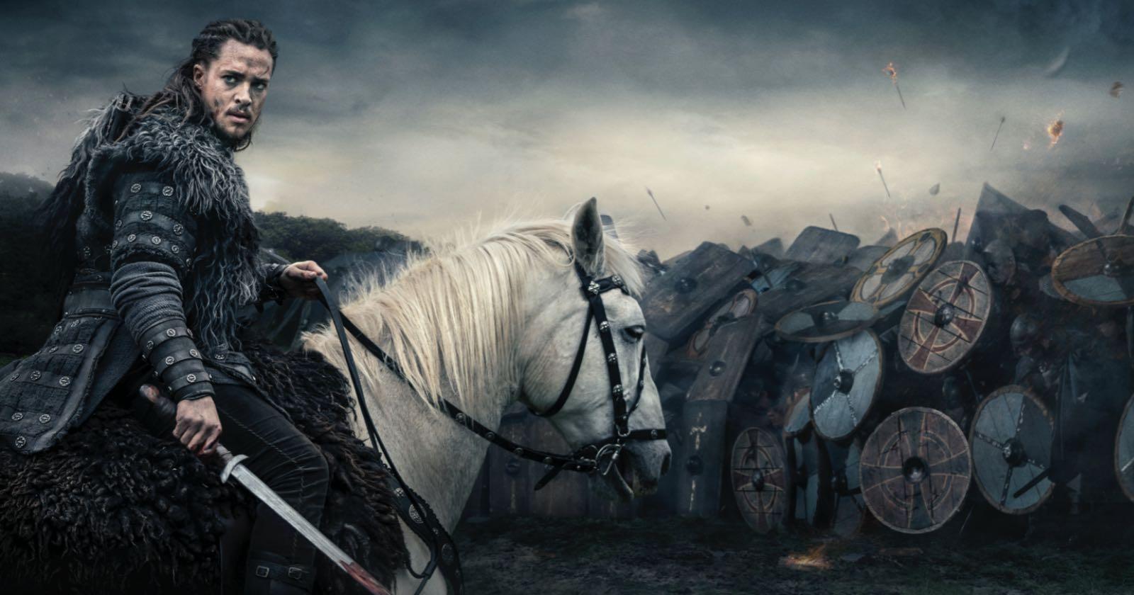 Escena característica de la serie The Last of Kingdom.