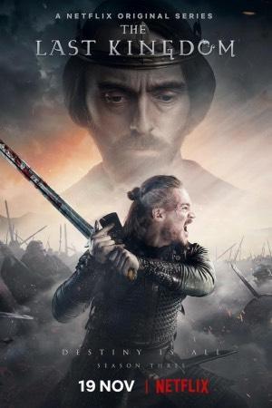 Alexander Dreymon como protagonista de la serie The Last Kingdom
