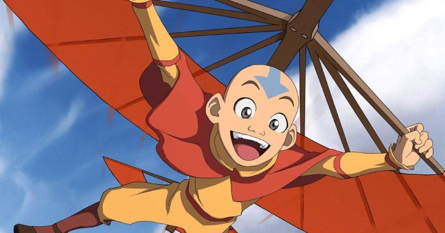 Avatar la leyenda de aang, Aang feliz haciendo aire control