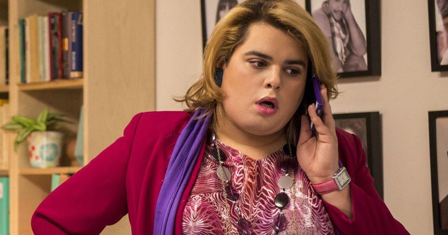 Paquita Salas interpretada por el actor Brays Efe.