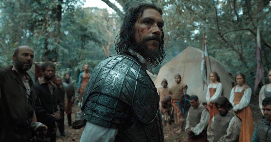 Óscar Jaenada protagonizando la serie Hernán