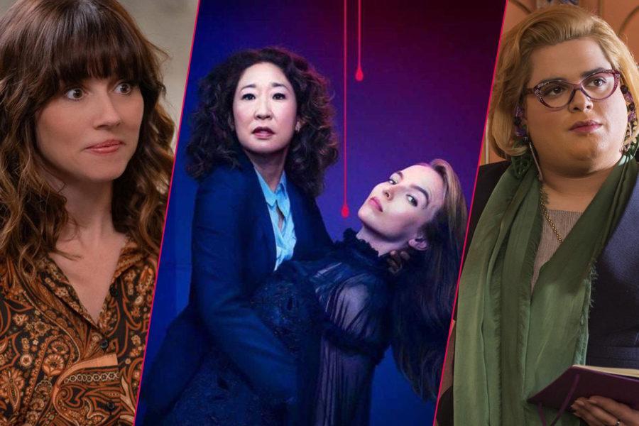 Series de comedia: Dead To me, Killing Eve y Paquita Salas.