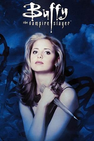 Foto promocional de Buffy, la cazavampiros.