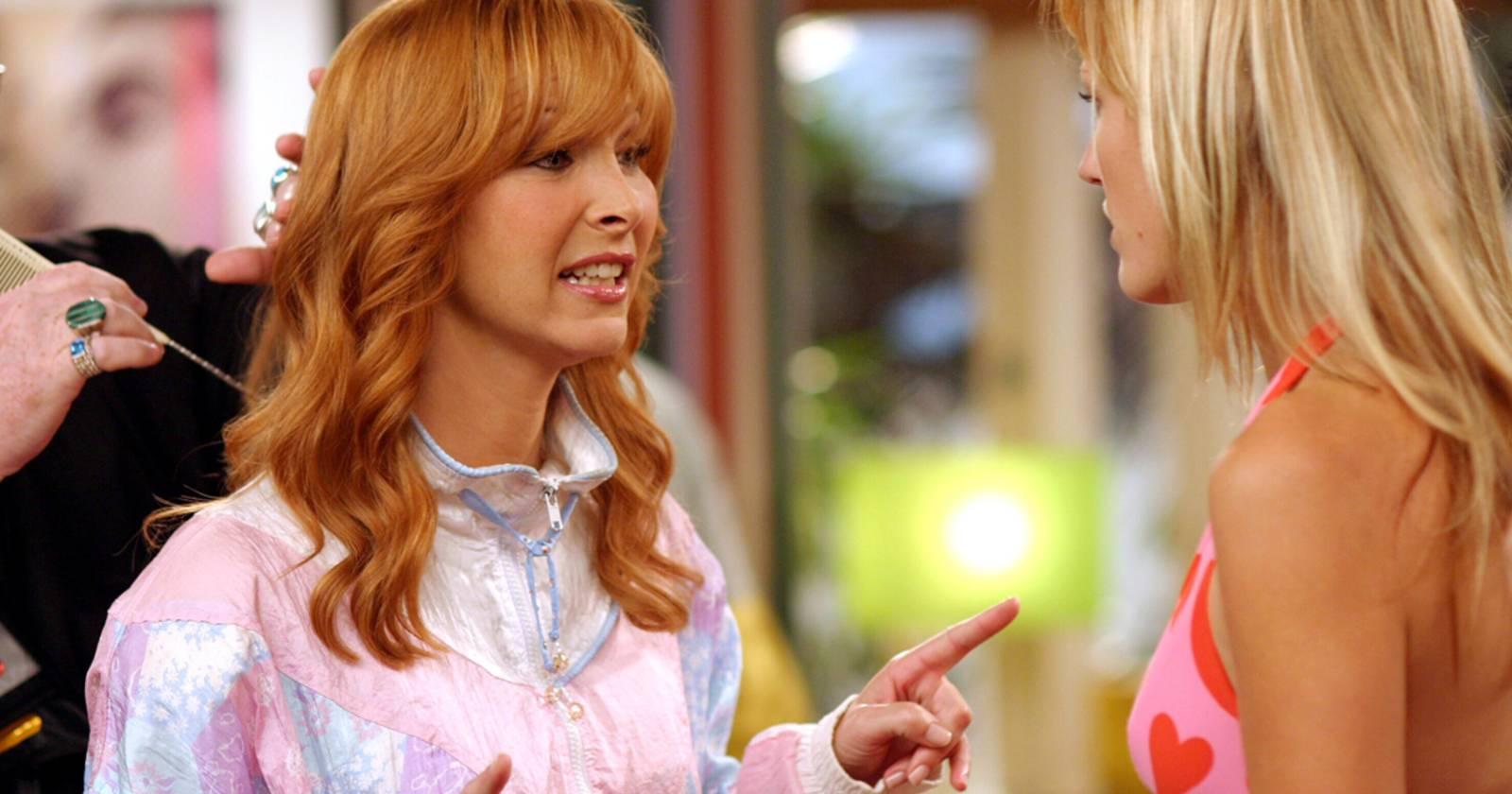 The Comeback, Valerie le da consejos a Juna en el set del sitcom