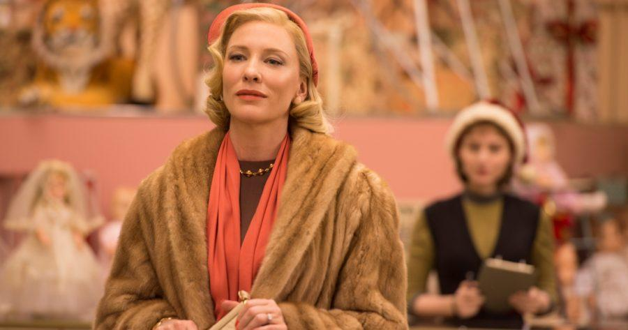 Carol y Therese en la película Carol