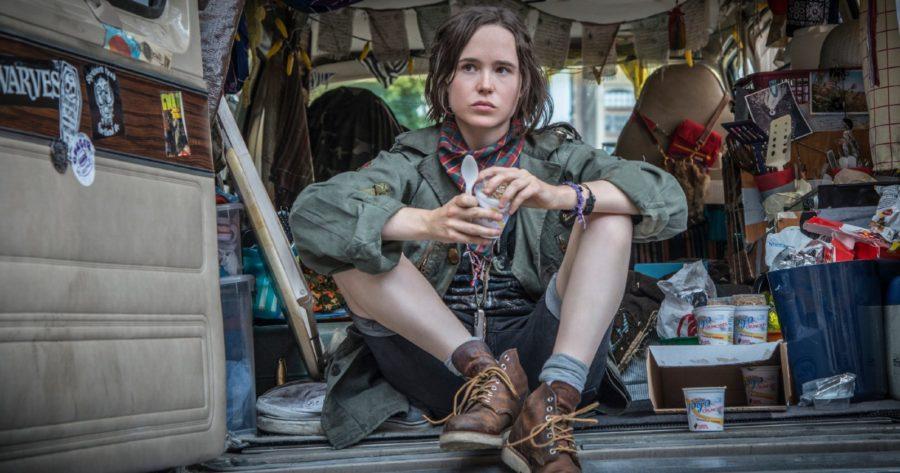 Elliot Page (Ellen Page) como Tallulah en la película