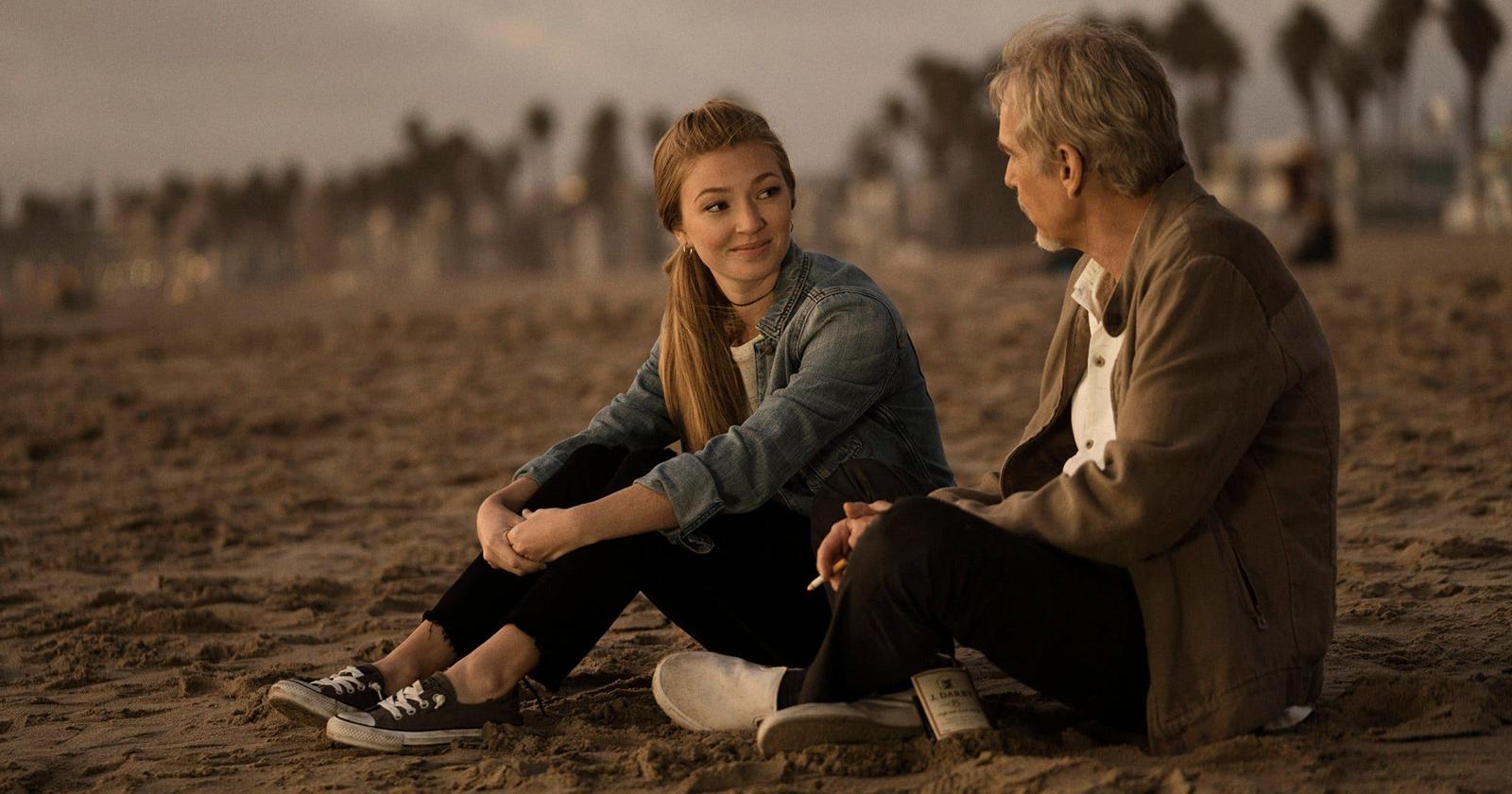 Billy McBride y su hija.