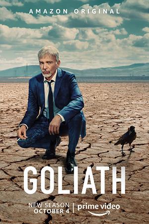 Billy Bob Thornton protagoniza Goliath.