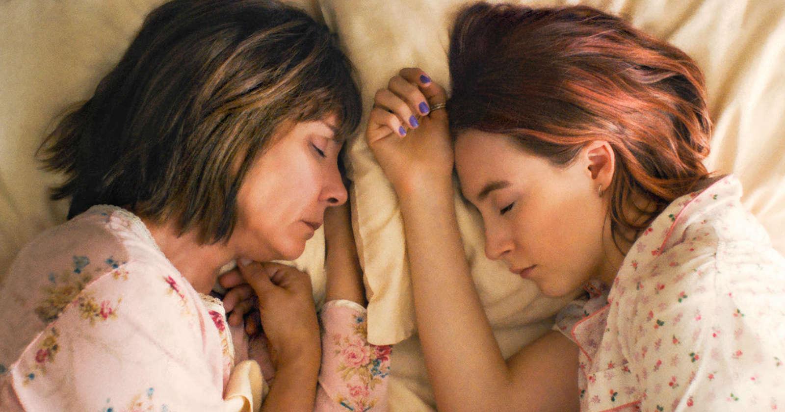 Lady bird y su madre durmiendo juntas