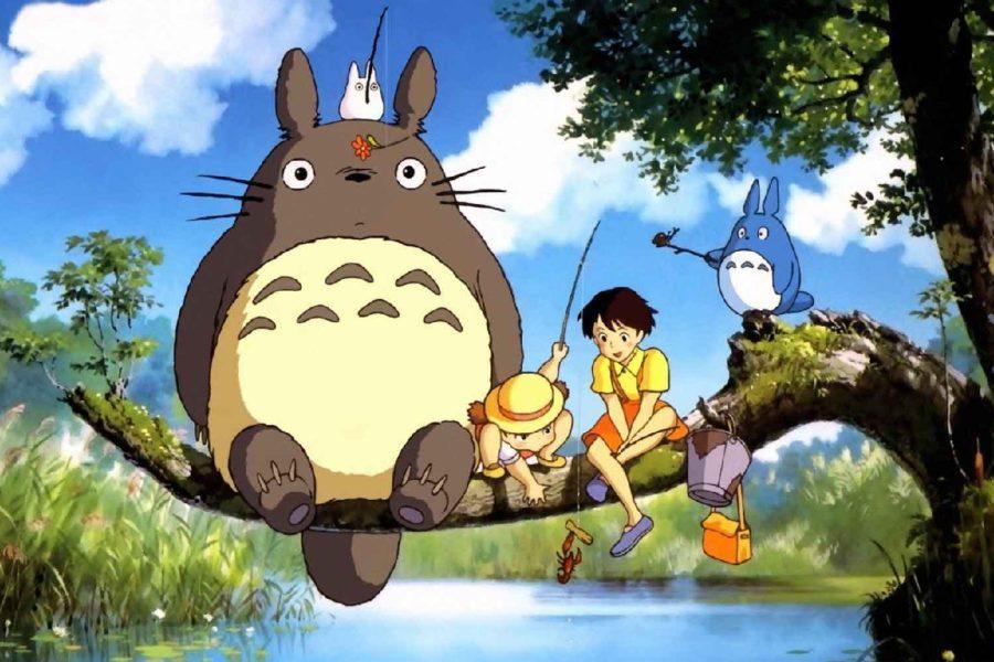 Totoro, Mei y Satsuki