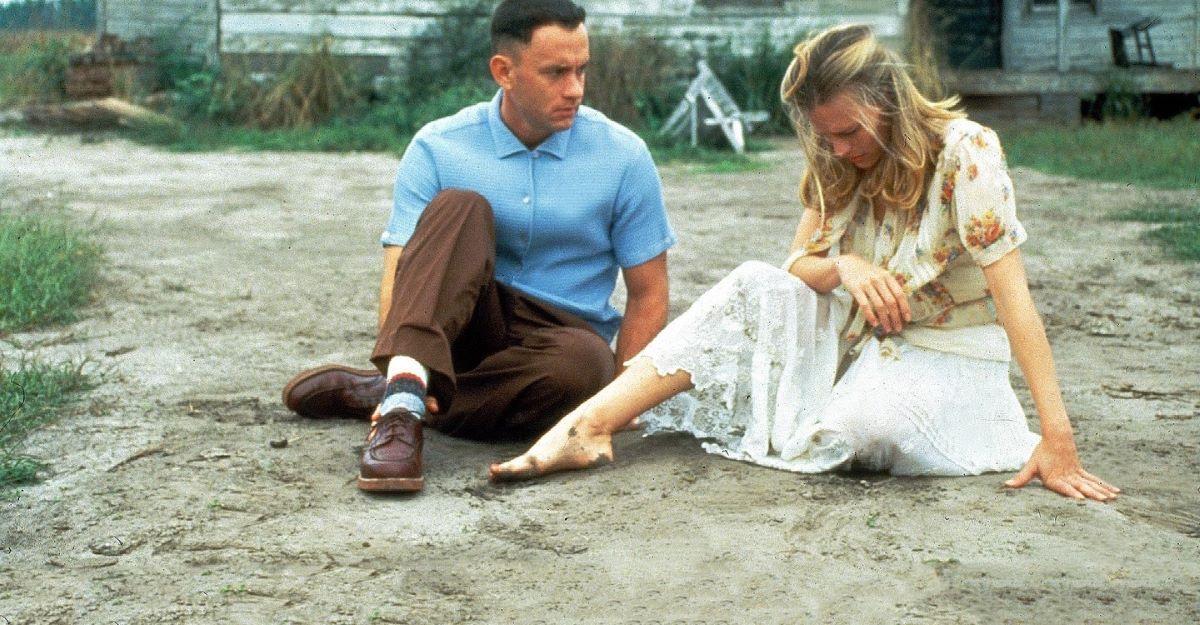 Forrest y su querida, y abrumada, Jenny (Robin Wright).