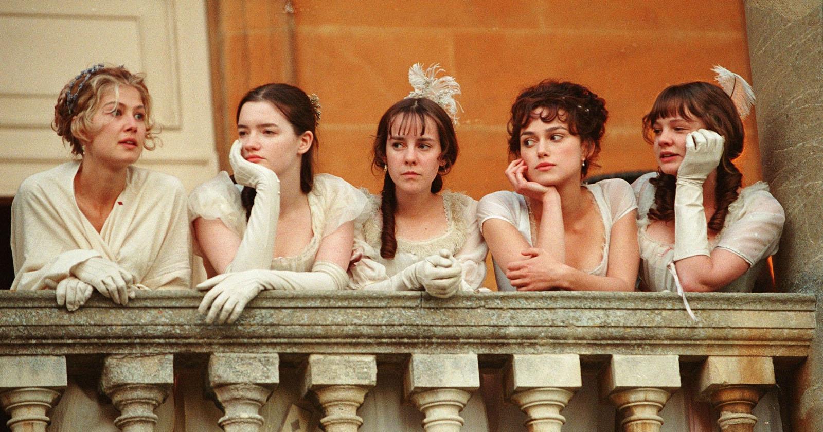 Hermanas Bennet desde la casa de campo de los señores Bingley